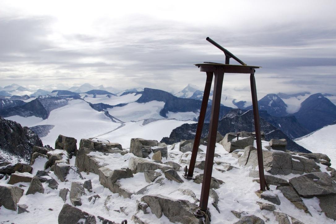 Galdhøpiggen summit